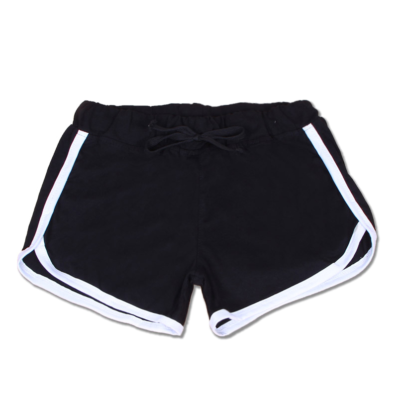 1 Pcs Women Lady Cotton Sport Shorts Mid Waist Elasticity For Summer Beach DX88
