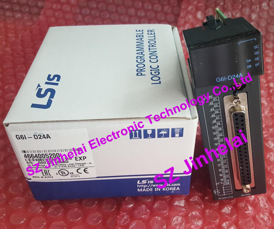 G6I-D24A Authentic original LS(LG) PLC CONTROLLER Input module g6i d24a 100% new and original ls lg plc input module