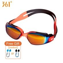 361 Anti Fog Swimming Goggles Pools Waterproof Children Glasses Equipment Training Swim Child