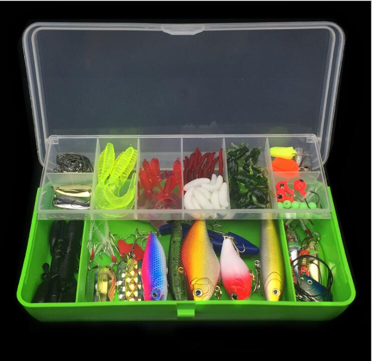 Set of 101sets artificial lure baitslure multi-functional swimming - Fishing - Photo 4