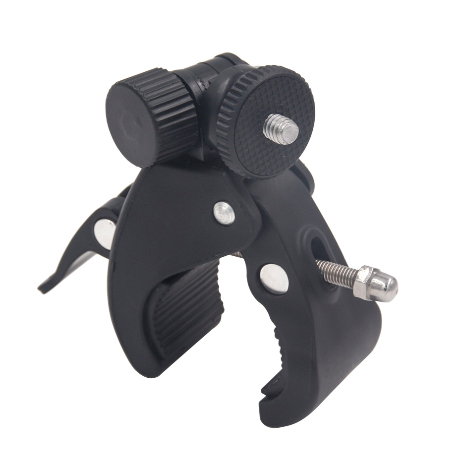 For Gopro Mounting Motorcycle Bike Handlebar Hero 5 6 4 Sjcam Eken Yi 4K Camera Holder Clip Go Pro Cycling Accessory