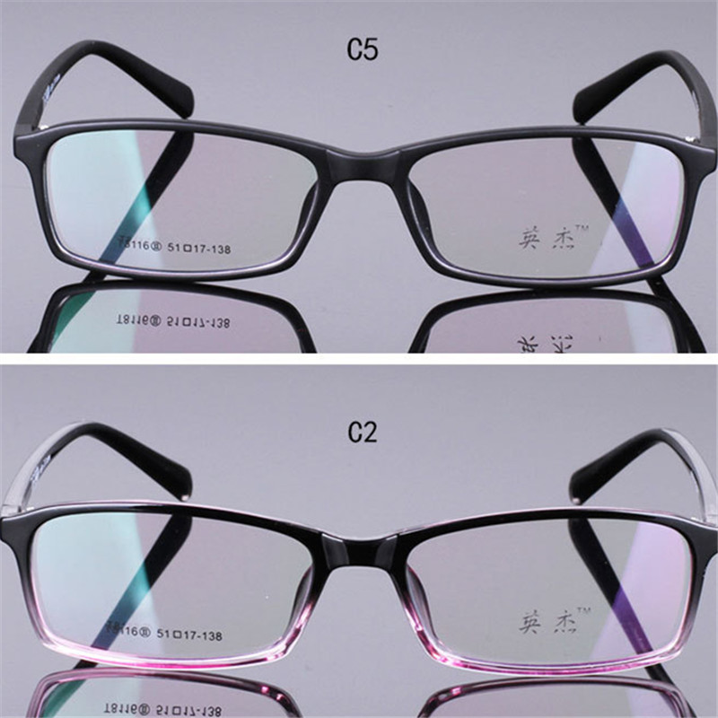 8683606441a Full frame ultra light tr90 eyeglasses frame glasses frame box myopia  glasses male Women mirror mens eyewear prescription 8-in Eyewear Frames  from Apparel ...