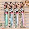 Corea del sur importó alto grado crystal nano carbón de bambú cepillo de dientes de mango de cepillo de dientes antibacterial