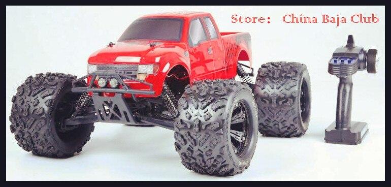 Rovan TorlnD EV4 1:8 sans brosse électrique télécommande monstre camion 4WD Baja