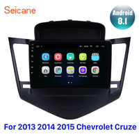 Seicane Android 8.1 9 Inch Car Multimedia Player GPS For 2013 20142015 Chevrolet Cruze Navi 2din Autoradio support Backup camera