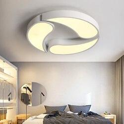 Nowoczesne LED akrylowa sufitowa domu lampa do jadalni kreatywne oświetlenie lampy sufitowe dzieci sypialni oświetlenie sufitowe