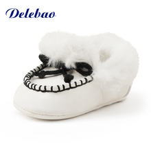 2016 New Design Winter Baby Boots Soft Warm Sole Shoes Comfortable Girl Wholesale Price Sale