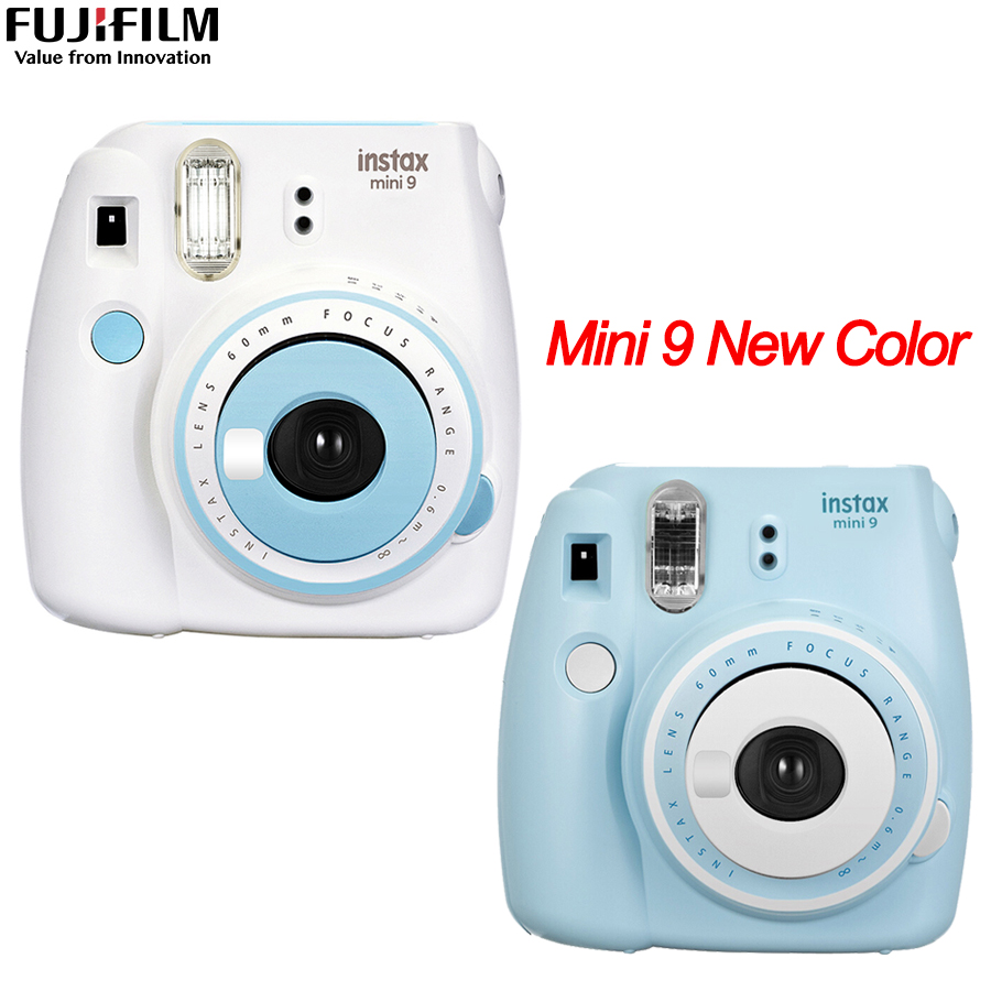 Original Fujifilm Fuji Instax Mini 9 Instant Film Photo Camera + 20 Sheets Fujifilm Instax Mini 8/9 FilmsOriginal Fujifilm Fuji Instax Mini 9 Instant Film Photo Camera + 20 Sheets Fujifilm Instax Mini 8/9 Films