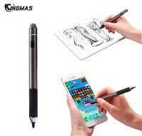 Caneta de Toque capacitivo Caneta stylus tela sensível ao toque duplo-end Para o iphone Samsung Android Microsoft Equipamentos Tela Capacitiva tablet