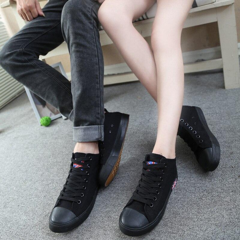 Весна 2016 Новая звезда пара обуви для мужчин и женщин корзины спорт красные туфли унисекс британский стиль Бег парусиновая обувь все размеры...