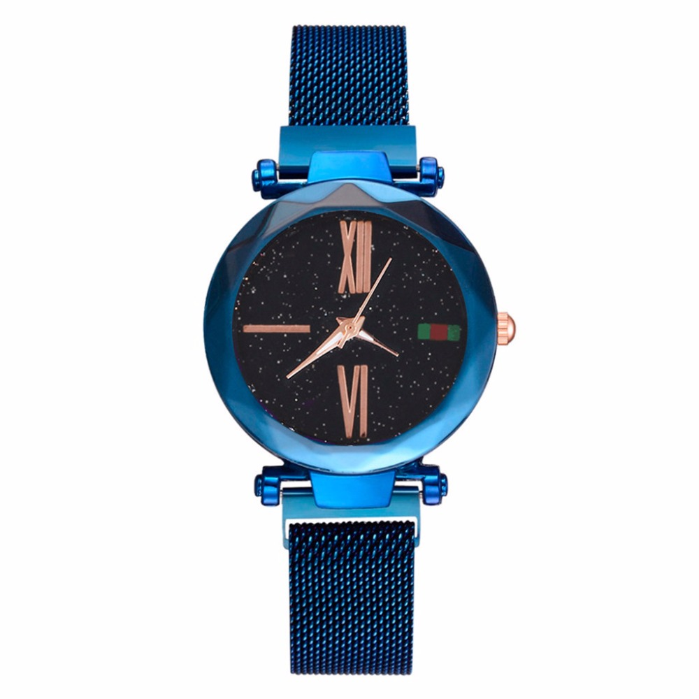 comprar online Reloj Cielo Estrellado Starry Sky Lujo de Mujer con Correa Pulsera Magnetica