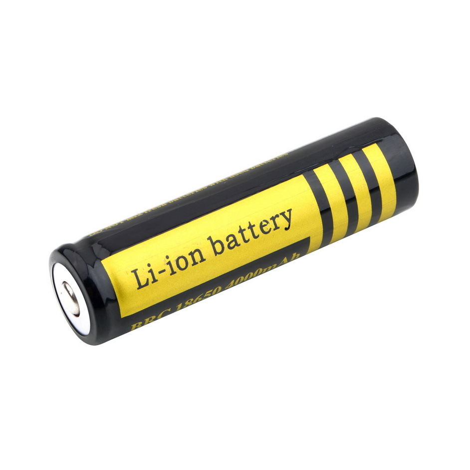 AIMIHUO 18650 Battery for flashlight 18650 battery 4000 mAh 3.7V rechargeable Li-ion battery