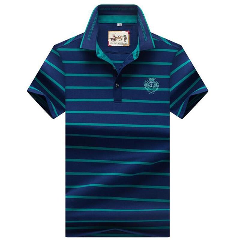 High quality   polo   shirt 2019 summer brand stripes men's   polo   shirt Fashion business casual shirt   polo   men solid shirt   polo   homme