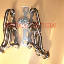 Выпускной коллектор для 88-99 Шевроле/GMC C/K пара из нержавеющей стали короткошерстная коллекторная выхлопная труба