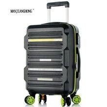 2016 neue Ankunft Mode-stil Trolley Gepäck koffer/Neue Stil ABS PC Gepäck Taschen Fällen/Präsident Gepäck/koffer auf rädern