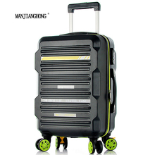 2016 New Arrival Fashion Style Trolley Luggage suitcase/New Style ABS PC Luggage Bags Cases/President Luggage/suitcase on wheels