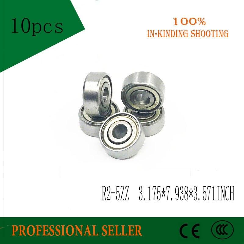 R2-5ZZ 3.175*7.938*3.571mm Motor Bearings 1/8
