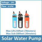 24v dc solar submersible pump price deep well submersible pump