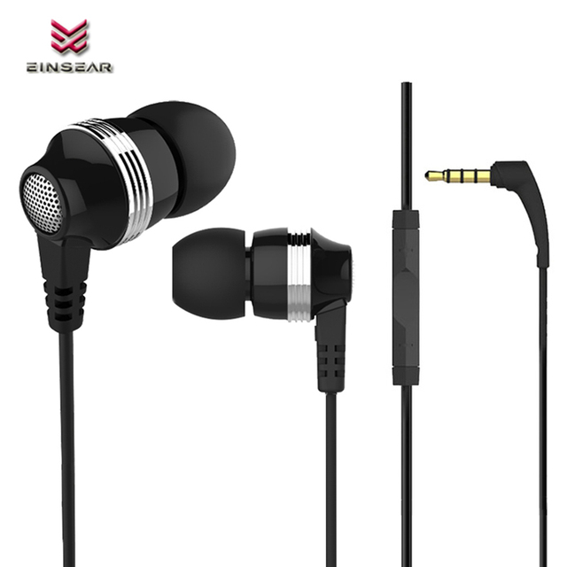 4a2de54f853 Original Einsear Bro In-Ear Earphone 3.5MM Wired Stereo Headset Dynamic  Earbuds Noise Cancellation for Samsung Xiaomi Android
