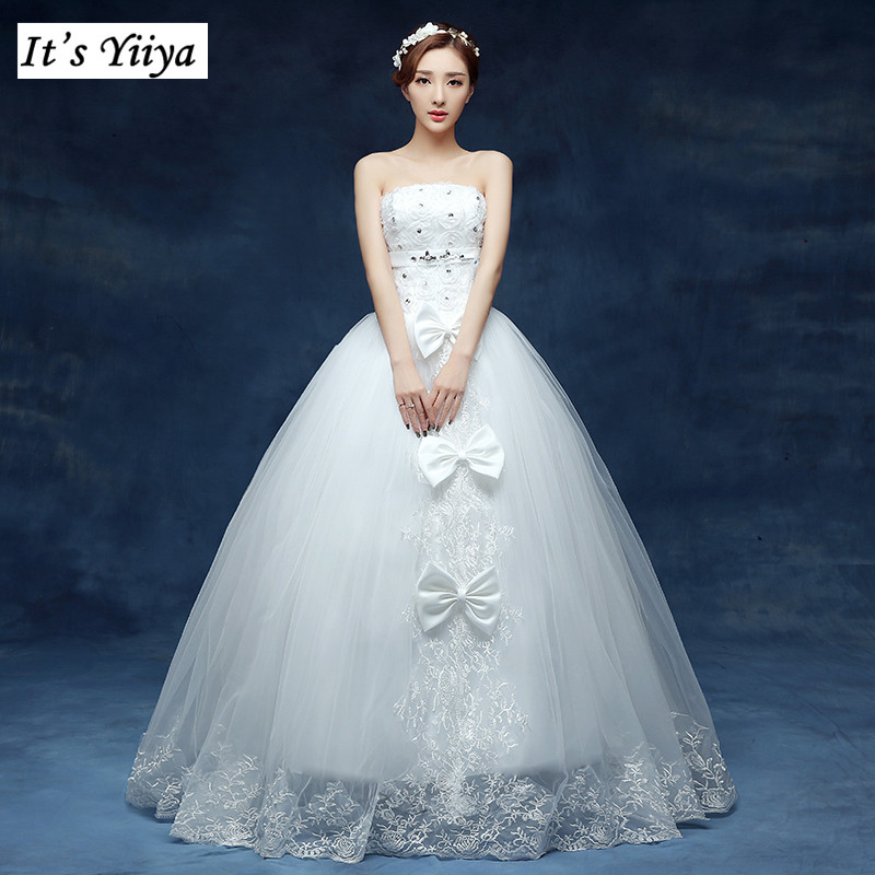 Buy free shipping 2016 new bridal white for Cheap princess wedding dress