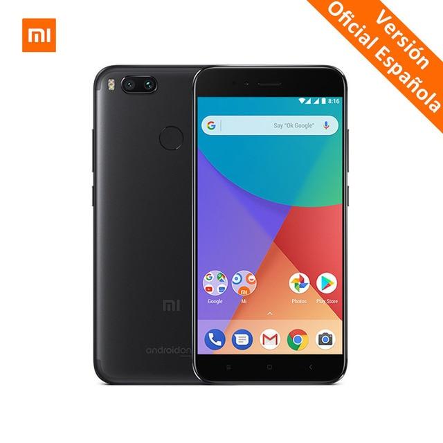 Xiaomi Mi A1 4G B Оперативная память 32 ГБ смартфон 625 телефона 5,5 дюймов двойной камеры 12MP LTE 4G Android ОДИН Глобальный Версия
