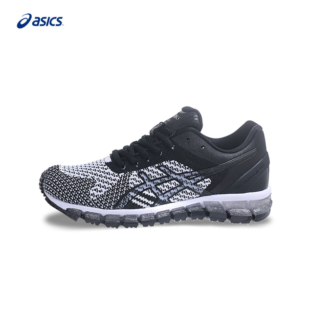 finest selection 851e5 feb21 Original ASICS GEL QUANTUM 360 KNIT Women Stability Running Shoes Black  Sports Shoes Sneakers Outdoor Walkng Jogging T728N-in Running Shoes from ...