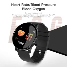 Bluetooth Waterproof Smart Bracelet W8 Color Screen Heart Rate Fitness Monitor Wristband  Watch Pedometer