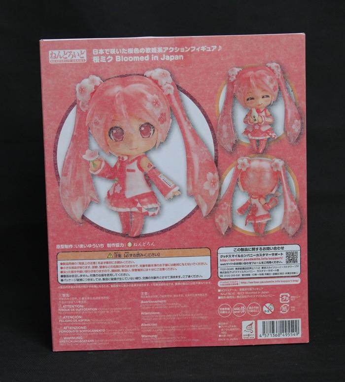 Hot Vocaloid Idol Sakura Hatsune Miku Bloomed In Japan 500 # 10CM Action Figure 2