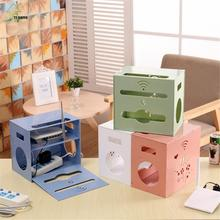 YIHONG Routers Storage Box Racks Protection Box Power Desktop Storage Box Case Supplies Safety Router Socket Outlet Board Boxes