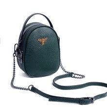купить Luxury Handbags Women Bags Designer Ladies Genuine Leather Shoulder Bag for Women 2019 Fashion Bee Decoration Famous Brands Tote по цене 1467.09 рублей