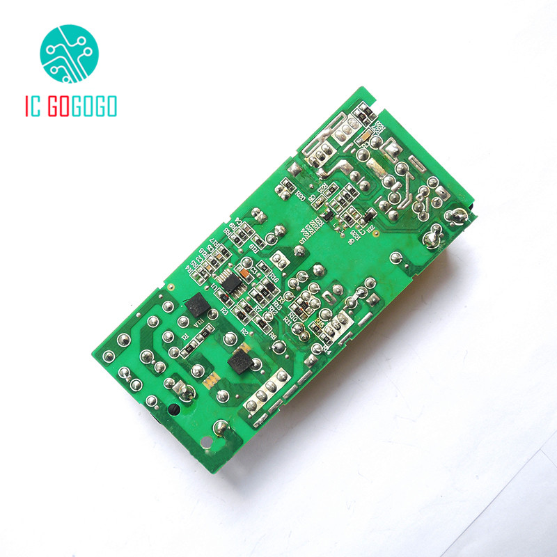 2PCS AC DC 12V 5A Switching Power Supply Circuit Board DC Voltage ...