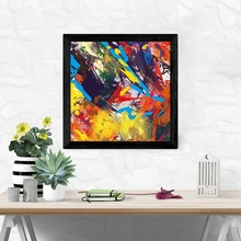 Laeacco Nordic Abstract Graffiti Posters and Prints Wall Art Picture Modern Canvas Painting for Living Room Home Decor