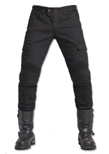 Free Shipping 2016 Uglybros MOTORPOOL UBS06 Black jeans Leisure motorcycle jeans pants of locomotive riding a motorcycle pants