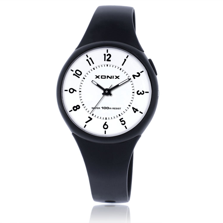 xonix watch women sports waterproof watch relogio feminino. Black Bedroom Furniture Sets. Home Design Ideas