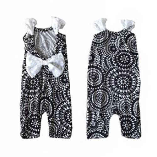 a01c45ebec75 Detail Feedback Questions about Pudcoco Summer Boho Kid Baby Girl Backless  Loose Sleeveless Bowknot Romper Jumpsuit Sunsuits Outfit Clothes Costumes 0  24M ...