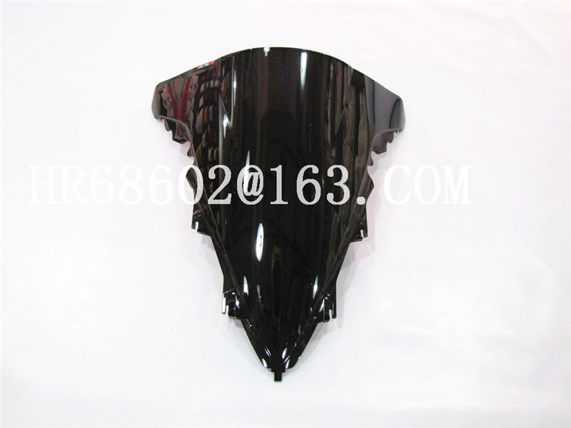 For Yamaha YZF 1000 R1 2009 2010 2011 2012 2013 2014 Black Windshield WindScreen Double Bubble Yzf R1 09 10 11 12 13 14 CC
