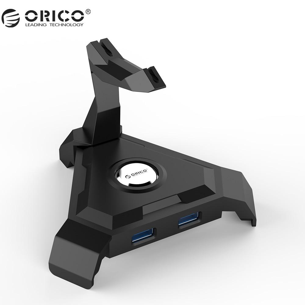 ORICO LH4-U3 4 Ports USB3.0 HUB 5 Gbps 1 mt Datenkabel mit Mouse Kabelmanagement und 4 Port USB HUB (ohne Netzteil)