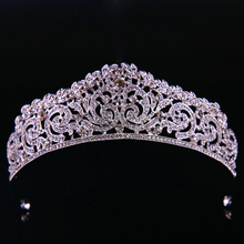 2017 Hot Sell Style Lady wedding Hair Accessories Princess Lovely Romantic Crown Headdress Bride jewelry