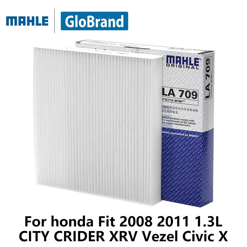 MAHLE car cabin filter LA709 For honda Fit 2008 1.3L 1.5L 2011 1.3L CITY CRIDER XRV Vezel Civic X auto part