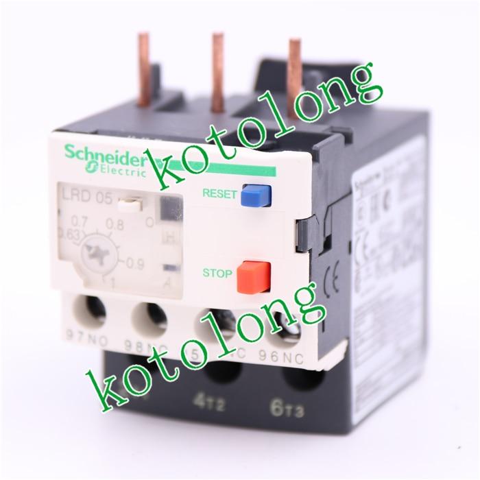 цена на TeSys LRD thermal overload relays LR-D05 LRD05 0.63-1A Class 10A