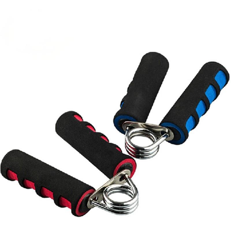 Yüksek Kaliteli Kırmızı Ve Mavi Köpük El Kavrama Jimnastik Fitness Ekipmanları Springs El Kavrama Bilek Egzersiz S. P. F.121504 Ücretsiz Kargo
