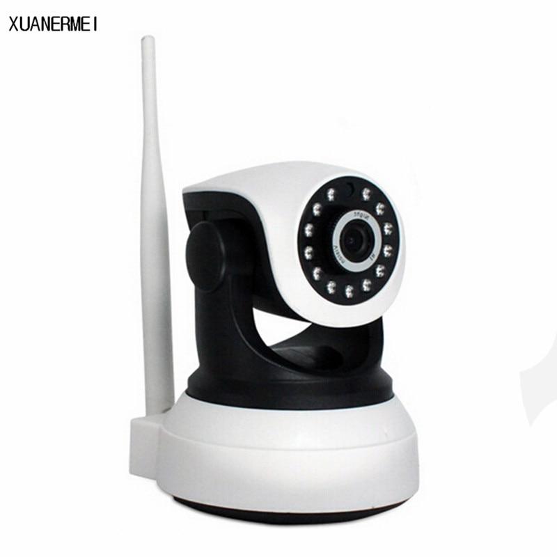 XUANERMEI IP Camera WiFi Wireless Home Security Surveillance Camera Baby monitor 720P Baby Monitor Night Vision CCTV Camera