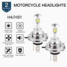 H4 LED Motorcycle Headlight DC 9-36V For POLARIS 340 Transport 2008 h4 Motor Led Super White Moto Bulbs