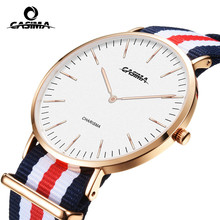 2017 Luxury Brand New Watch Waterproof Quartz Watches for Men and Women Watchband relogio Elegant Watches CASIMA 5134
