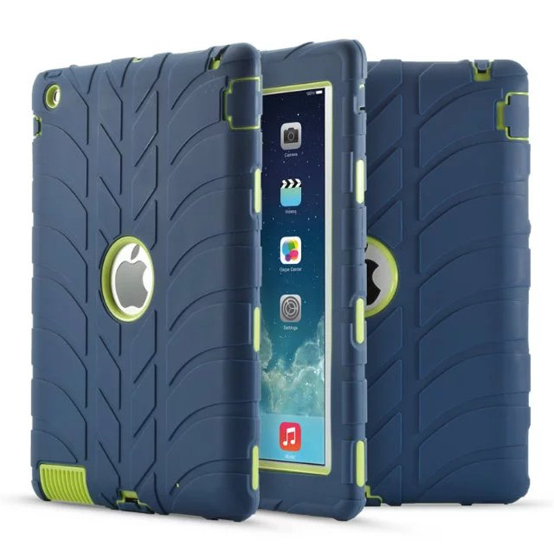 New Armor Case For iPad 2 iPad 3 iPad 4 Kids Safe Shockproof Heavy Duty Silicone Hard Cover For Ipad 2 3 4 Table Case for ipad 2 ipad 3 ipad 4 case kids safe shockproof heavy duty rubber hybrid armor hard case cover stylus