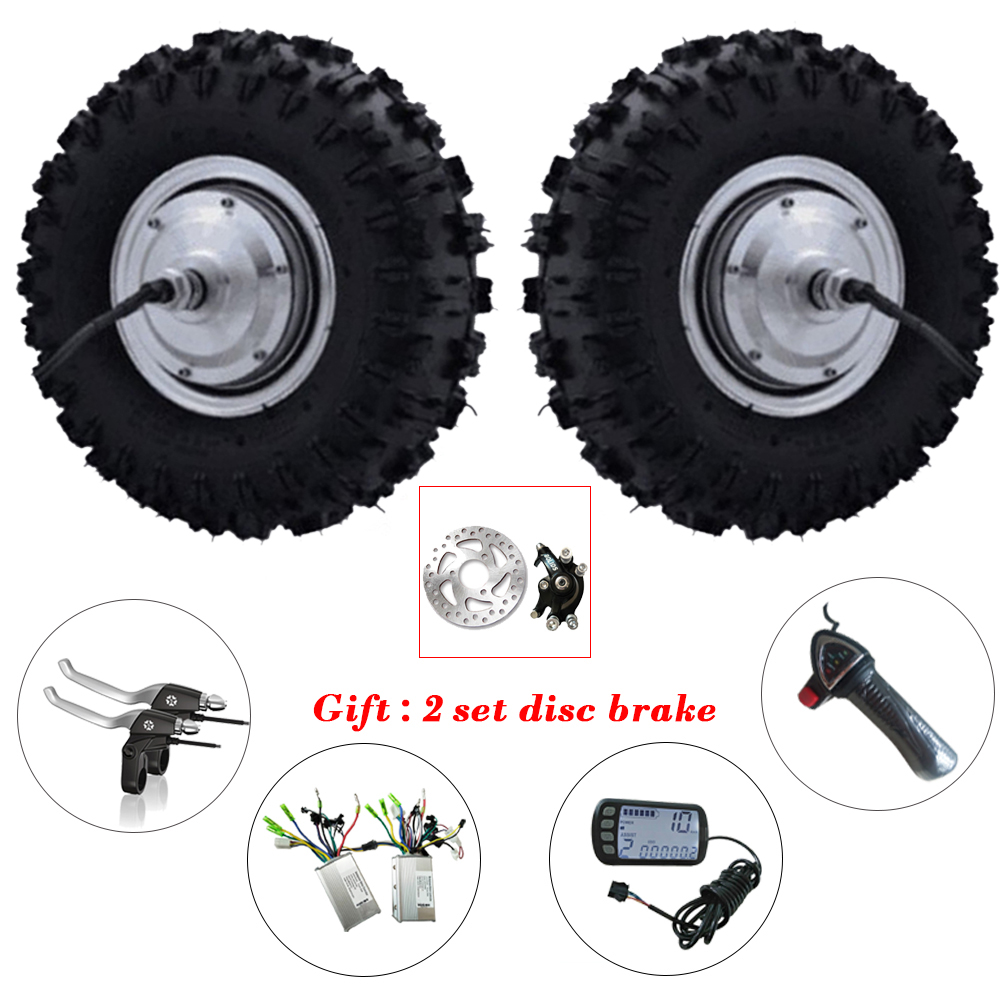 13 inch Electric Bicycle Motor Wheel 13 Off Road bicicleta electrica Electric Wheel Hub Motor 24