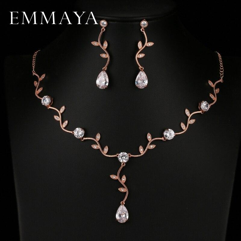 EMMAYA Rose Gold Color...