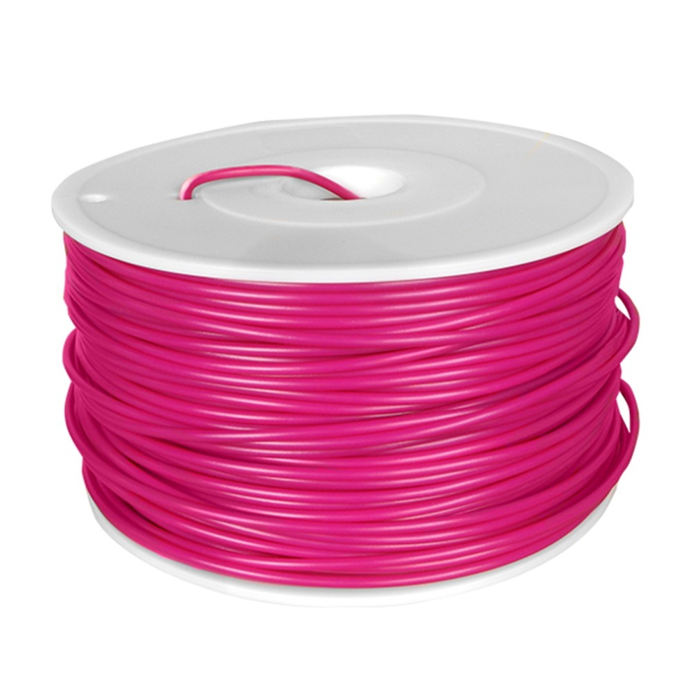 Low Shrinkage Very Stable 3D Printer 3mm Filament ABS 3D Printer Printing Material For Makerbot Reprap Printrbot Purple