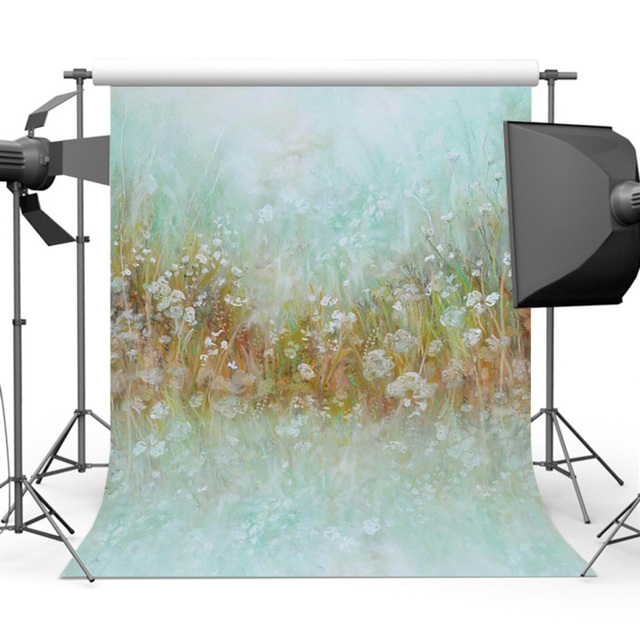 Mehofoto Newborn Backdrop Vintage Flower Photography Background for Children Photo Studio S-3022