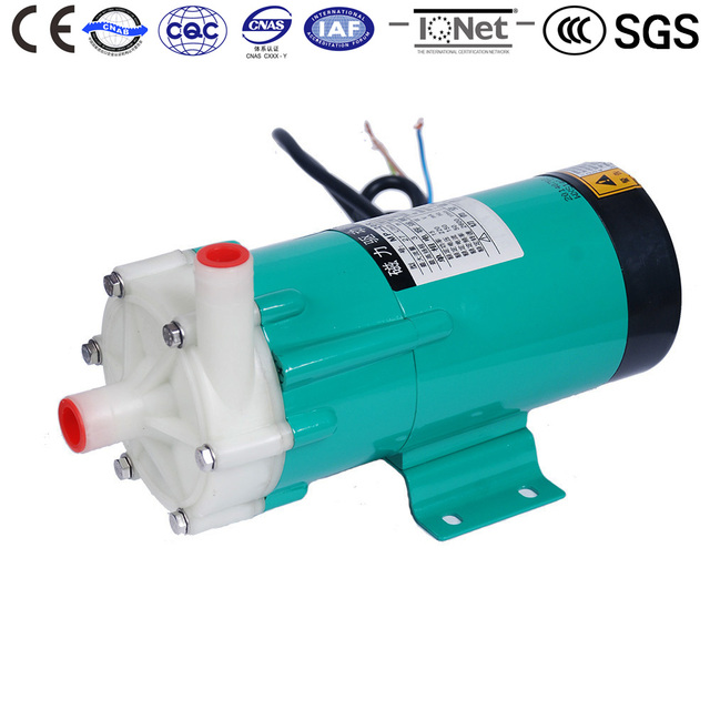 Magnetic Drive Circulation Water Pump MP-20R 60HZ 220V chemical Fertilizer Cycle Of Reactive Liquid Of Gas Absorb Tower Washing
